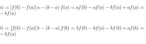 Teorema di Lagrange e conseguenze