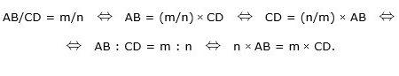 Nozione di commensurabilità tra segmenti e problemi di geometria elementare