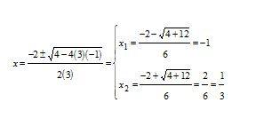 Equazione algebrica di secondo grado