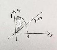 Calcolare il seguente integrale doppio