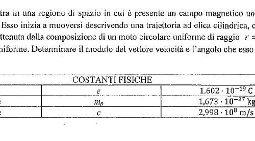 Questionari di fisica alla Maturità Scientifica