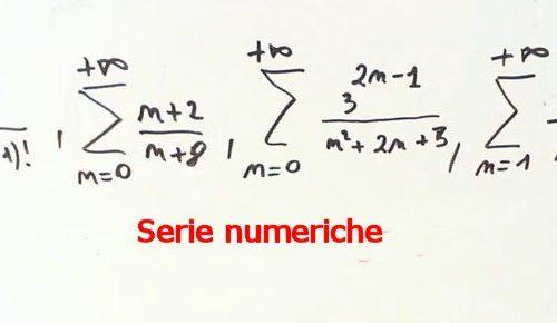 Convergenza e divergenza di una serie in base alla definizione