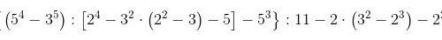 Espressioni numeriche